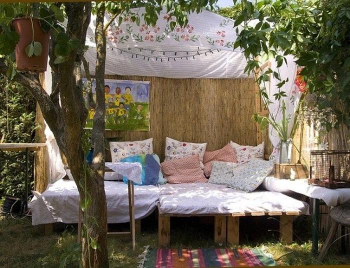 Место для отдыха с навесом. Фото: novamett.ru.