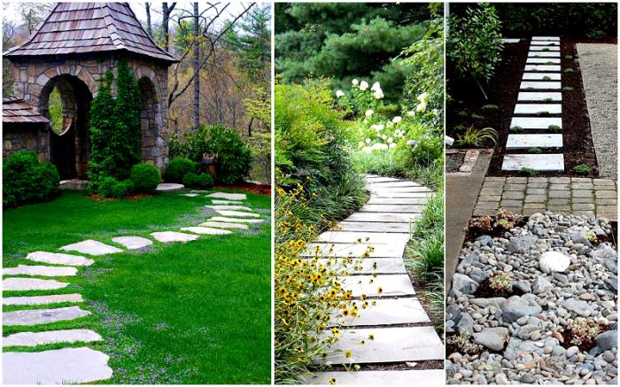 Вот так нужно оформлять садовые дорожки. Фото: stroy-express.su.